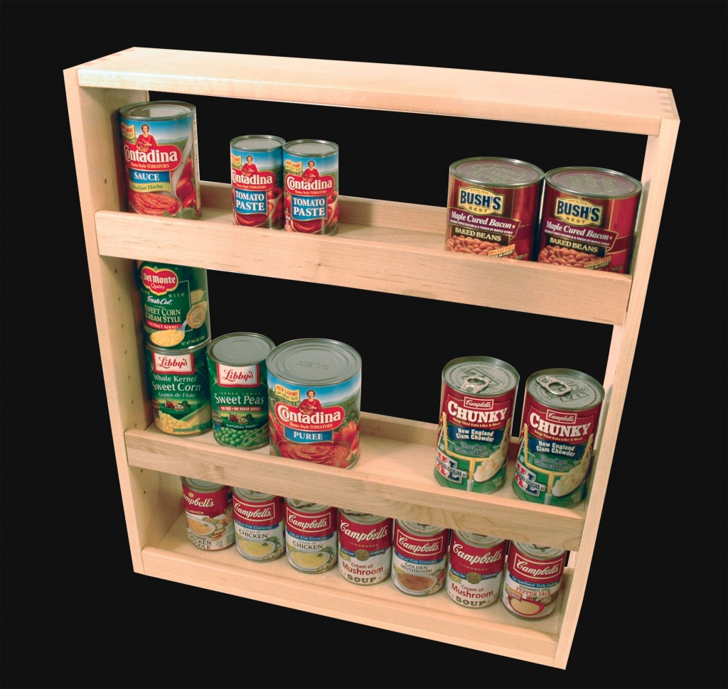 Canned Good Rack